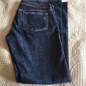 """Citizens of Humanity boot cut jeans, 28""""waist"""